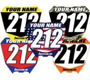 Custom Mini Dirt Bike Plates