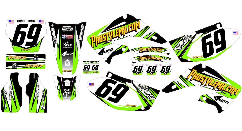 Troy Lee Designs Helmet >> Titanium Graphics Kit (5 Color Options) - Pro Style MX