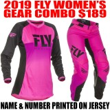2019 FLY LITE WOMENS GEAR COMBO PINK