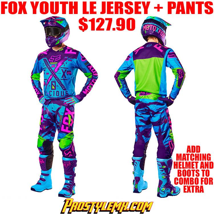 fox youth jersey