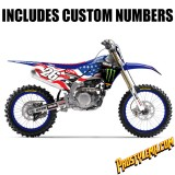 2018 Team USA MXoN Aaron Plessinger Yamaha D'cor Graphic Kit