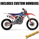 2014 Team USA MXoN Geico Honda D'cor Graphic Kit