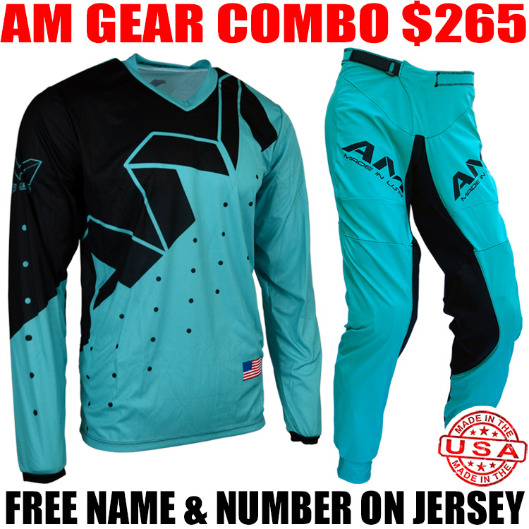 AM 2.0 PRO GEAR COMBO TILT TURQUOISE/ BLACK