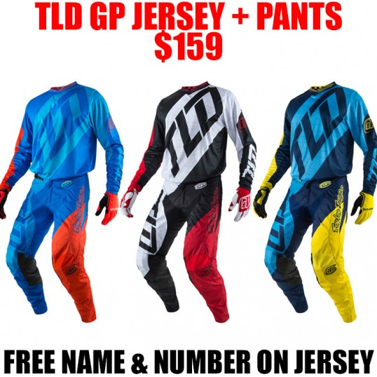 2017 TLD GP QUEST GEAR COMBO