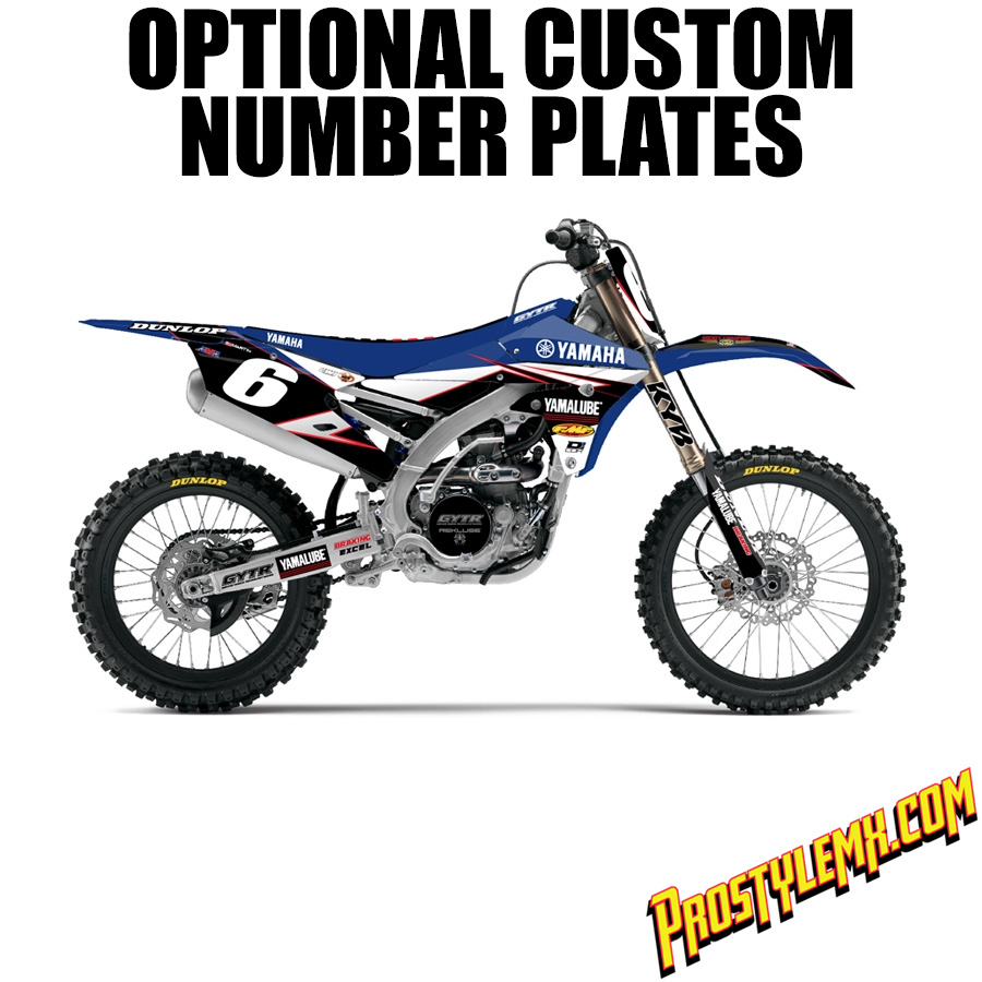Star Racing Yamaha Graphic Kit Pro Style Mx