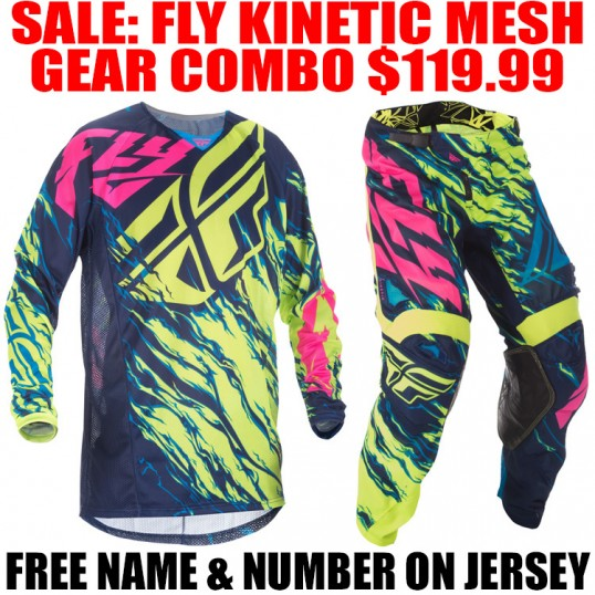 2017.5 FLY KINETIC RELAPSE MESH GEAR COMBO BLUE/ HI VIS