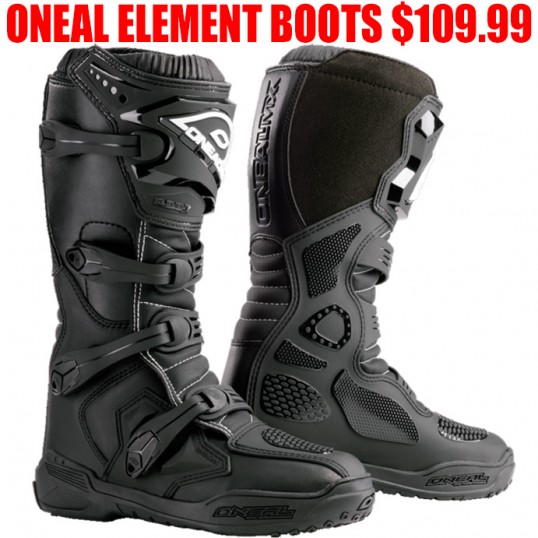 Oneal Mx Element Boots Pro Style Mx