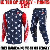 LIMITED EDITION TLD GP STAR GEAR COMBO