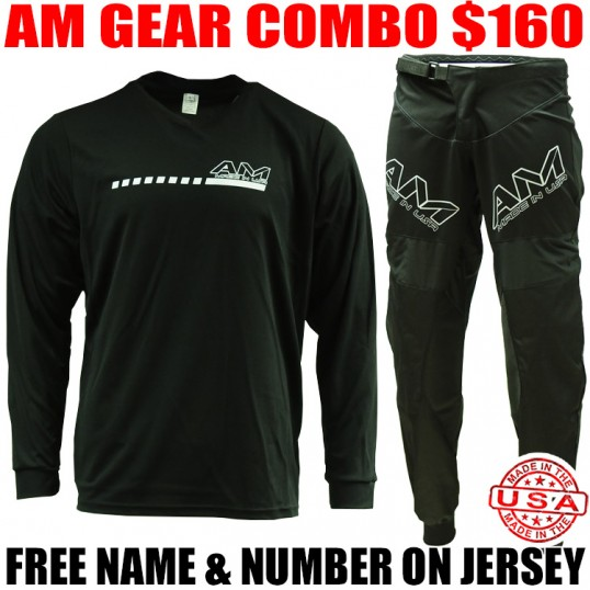 AM SPEEDY GEAR COMBO BLACK