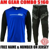 AM SPEEDY GEAR COMBO BLUE/ BLACK