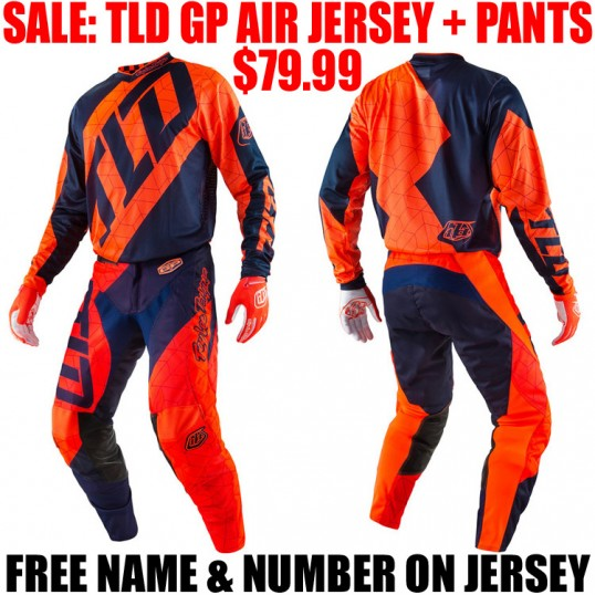 TLD GP AIR QUEST GEAR COMBO