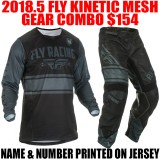 2018.5 FLY KINETIC MESH GEAR COMBO BLACK