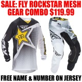 2016.5 FLY RACING ROCKSTAR MESH GEAR COMBO
