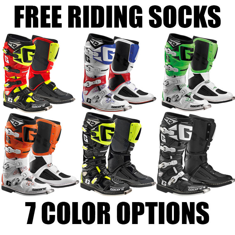 Gaerne Boots Sg12 >> GAERNE SG-12 MX BOOTS - Pro Style MX