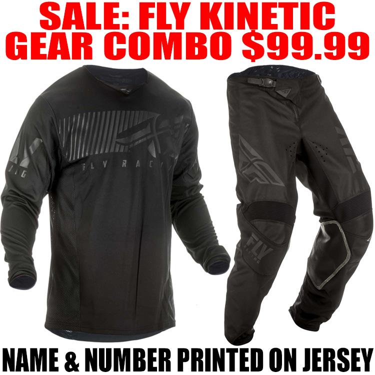 All Sizes Blk Fly Racing Kinetic Shield Motocross Motocross Jersey