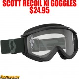 2018 SCOTT RECOIL Xi GOGGLES BLACK