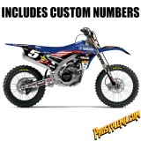2016 Team USA MXoN Rockstar/ Yamaha D'cor Graphic Kit