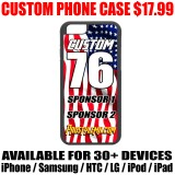 Custom Hard Cover Phone Case - USA Design