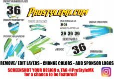 Custom Bike Graphics - Pro Style MX